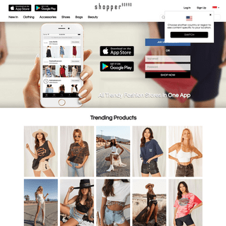 ShopperBoard - All Trendy Fashion Stores in One Shopping App