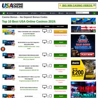 Online Casino Bonus Codes – Casino Bonuses and Codes