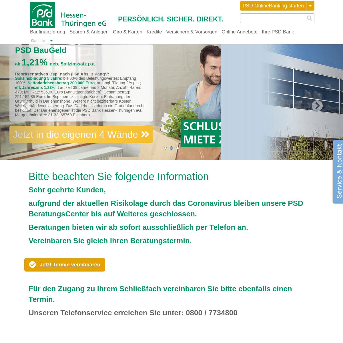 Psd Bank Hessen Thüringen