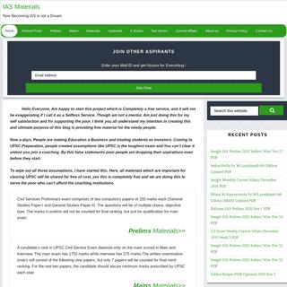 ArchiveBay.com - iasmaterials.com - Free Study Materials for IAS Preparation - UpscMaterials