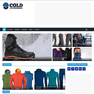 ArchiveBay.com - coldoutdoorsman.com - Cold Outdoorsman - Gear and Clothing Reviews for People with Raynaud's or Who Hate Being Cold