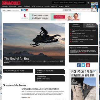 American Snowmobiler Magazine - Snowmobile forums, news, Polaris, Ski-Doo, Arctic Cat & Yamaha reviews