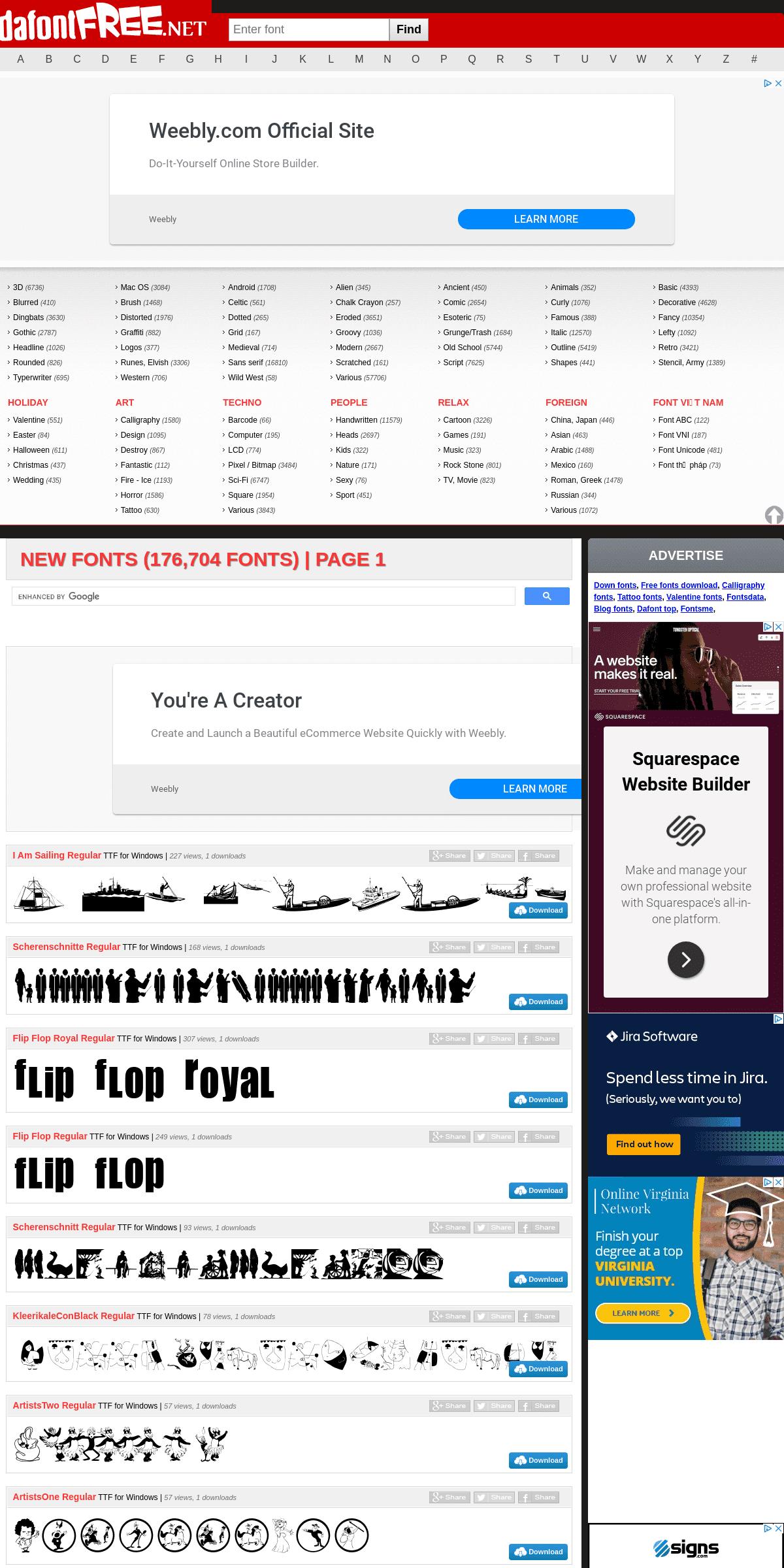 Dafont Free - Download fonts