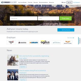 ArchiveBay.com - careerbuilder.ca - Careers, Employment and Jobs- Canada Employment at CareerBuilder.ca