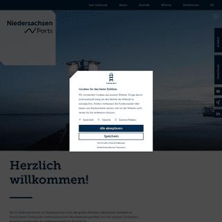 Niedersachsen Ports - größter Hafenbetreiber an der Nordseeküste