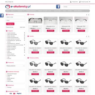 Okulary korekcyjne sklep, okulary przeciwsłoneczne dla dzieci i sportowe - e-okularnicy