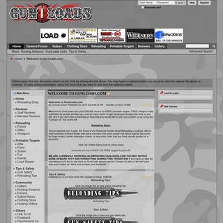 Gun Loads Forum - Gunloads.com