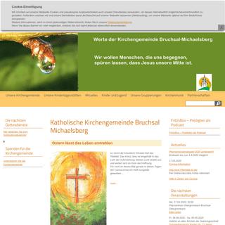 Katholische Kirchengemeinde Bruchsal Michaelsberg
