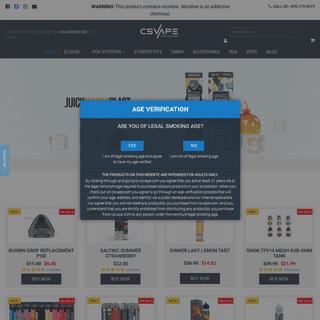 Best Online Vapor Store - E Cigs, Vape Products, Vaporizer Tanks, Mods - CSVape