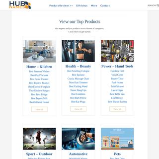 Top Product Reviews & Comparisons – HubNames.com