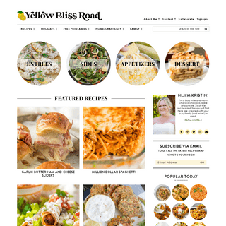 Yellow Bliss Road- Easy Recipes for Busy Families