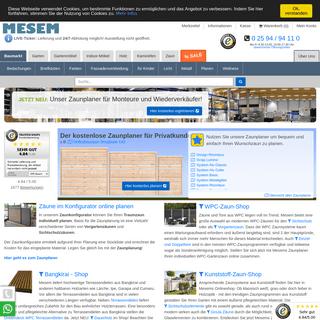 MESEM - Fachhandel und Onlineshop für Holz und hochwertige Gartenausstattung - MESEM.de