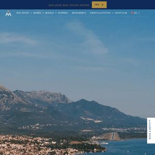 Porto Montenegro - Superyacht Marina & Luxury Residences in Adriatic