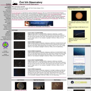 Črni Vrh Observatory