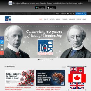 Home - Macdonald-Laurier Institute