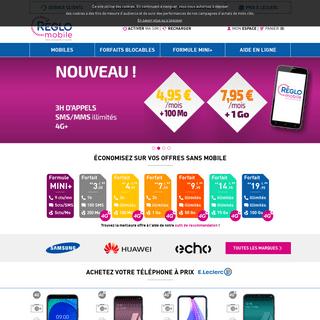 Découvrez nos offres et forfaits sans engagement et nos téléphones mobiles à prix E.Leclerc. - Réglo Mobile