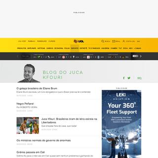 Blog do Juca Kfouri - UOL
