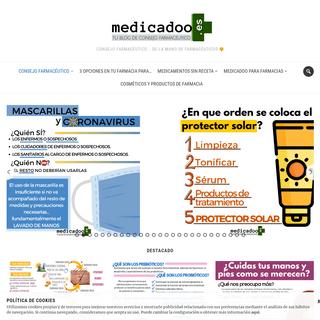 Medicadoo.es - Tu Blog de Consejo Farmacéutico