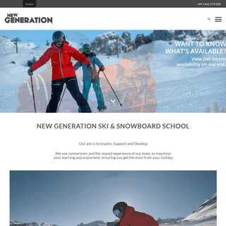 New Generation Ski School - Ski & Snowboard Lessons