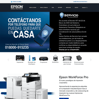 Epson Colombia - Inicio