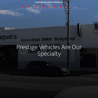 Casanova Crash Repairs – Adelaide Motor Body Repair & Paint Specialist