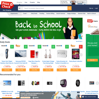 Compare Product Prices South Africa - Online Shopping - PriceCheck