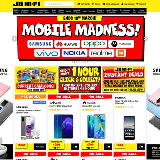 JB Hi-Fi - Australia's Largest Home Entertainment Retailer