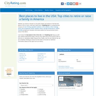 ArchiveBay.com - cityrating.com - Best Places To Live - CityRating.com