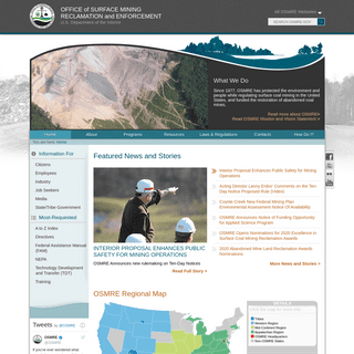 Office of Surface Mining Reclamation and Enforcement (OSMRE)