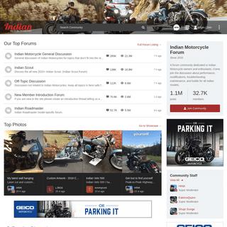 Indian Motorcycle Forum