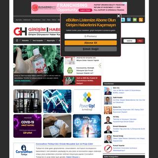 Girişim Haber - Ekosisteminin İçerik Kaynağı