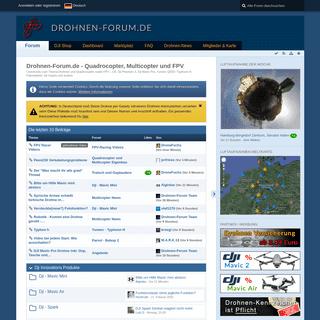 Drohnen-Forum.de - Quadrocopter, Multicopter und FPV