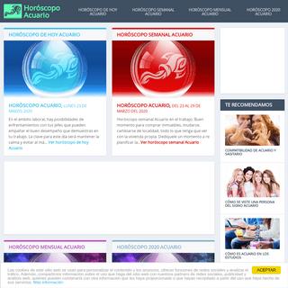 Horóscopo Acuario – Horóscopo de hoy, semanal, mensual y anual gratis