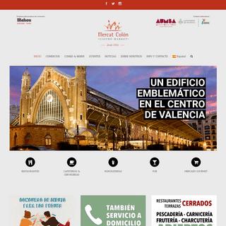 Inicio - Mercado Colón