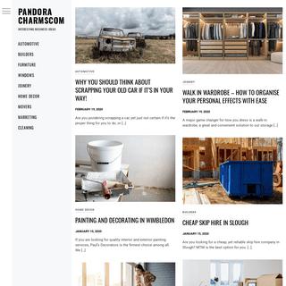 Pandora Charmscom – Interesting business ideas
