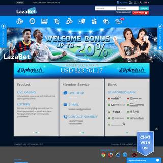 Lazabet Agen Bola Terpercaya Judi Online Agen Casino Terbesar Bandar Slot