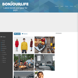 Bonjourlife - Men's Gear, Lifestyle and Trends