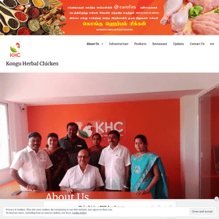 Kongu Herbal Chicken – india's first antibiotic free chicken