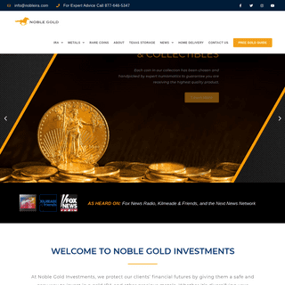 Noble Gold Investments - #1 Gold & Silver IRA Advisor