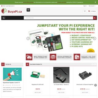 Raspberry Pi in Canada - BuyaPi.ca