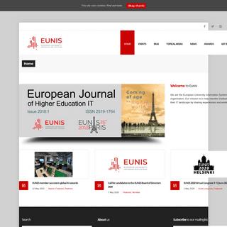 Eunis – European University Information Systems