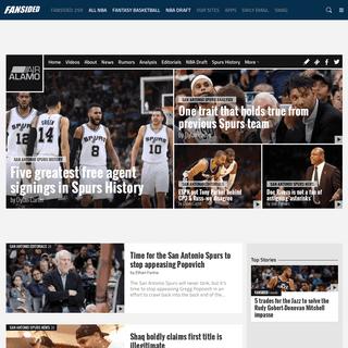San Antonio Spurs News, Rumors and Fan Community - Air Alamo