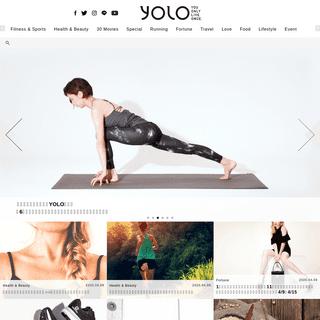 YOLO - ライフスタイルをよりアクティブ&ハッピーに!
