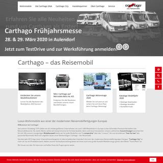 Premium Wohnmobile & Reisemobile - Carthago Reisemobilbau GmbH