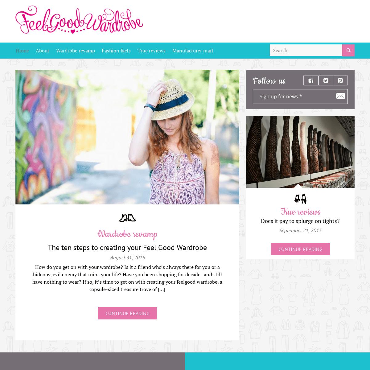 ArchiveBay.com - feelgoodwardrobe.com - Home - Feel Good Wardrobe