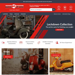 Beedspeed - Scooter Parts & Spares For Lambretta, Vespa & More