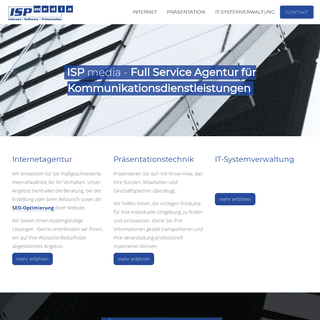 ISP media - Full Service Agentur für Kommunikation