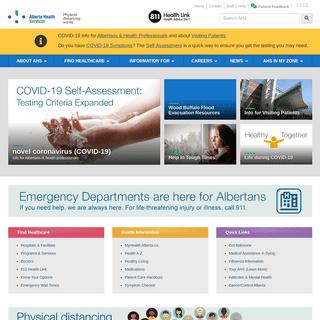 Home - Alberta Health Services