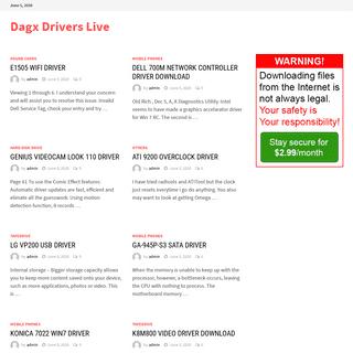 Dagx Drivers Live -
