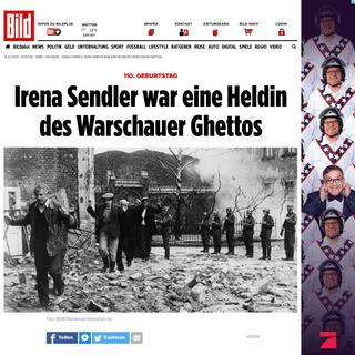 Google Doodle- Irena Sendler war eine Heldin des Warschauer Ghettos - Ratgeber - Bild.de